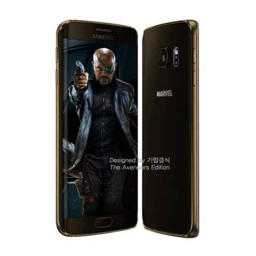 Fan-made renders of Avengers-inspired Galaxy S6 edge versions