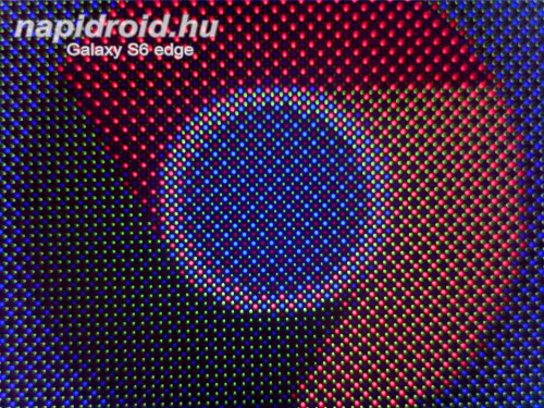 Galaxy S6 edge under the microscope