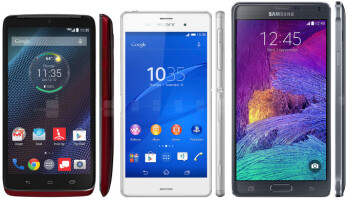 10 flagship phones with the best battery life (May 2015)