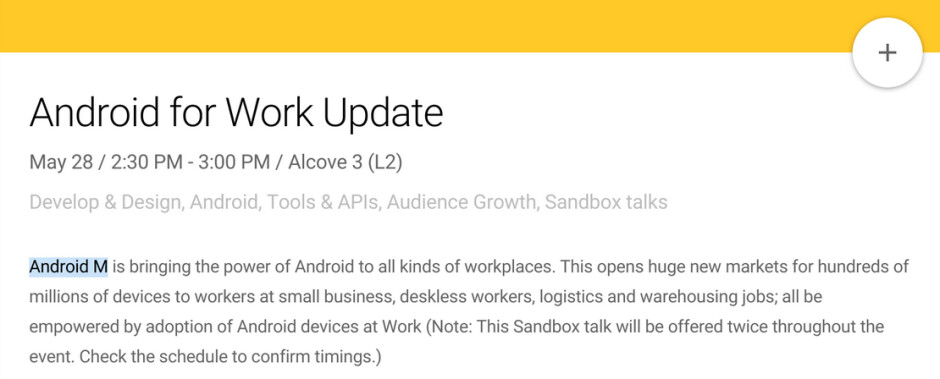 Google to introduce Android M at I/O later this month - Android M to be introduced at Google I/O 2015?