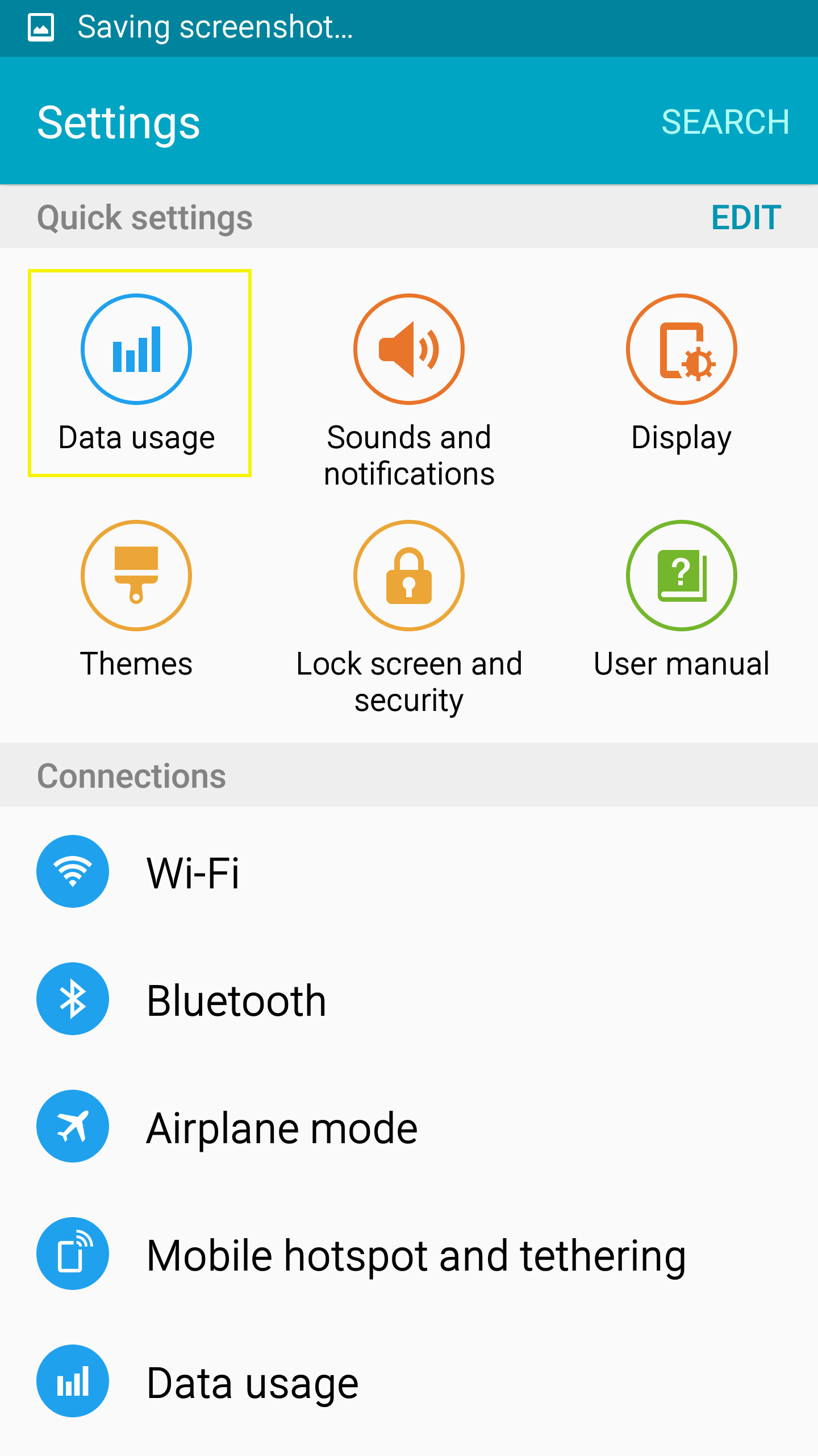 2 Tap On The Data Usage Icon In Quick Settings Reuters Graphics Example Of  How To