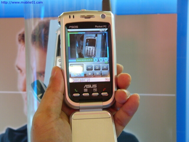 ASUS  P505 Pocket PC 2003 Phone Edition gets FCC approval