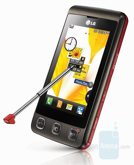 LG KP500 is a budget touch phone