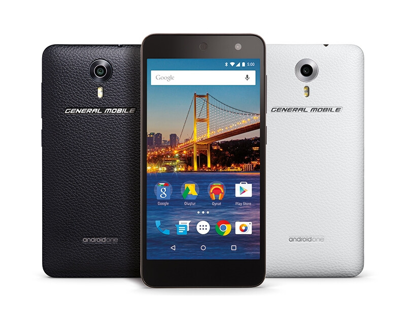 The general mobile 4g android one smartphone image from google the general mobile 4g android one smartphone image from google intros the first android one smartphone for europe general mobile 4g sciox Gallery