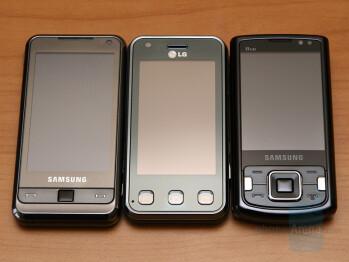 Samsung OMNIA, LG Renoir and Samsung INNOV8