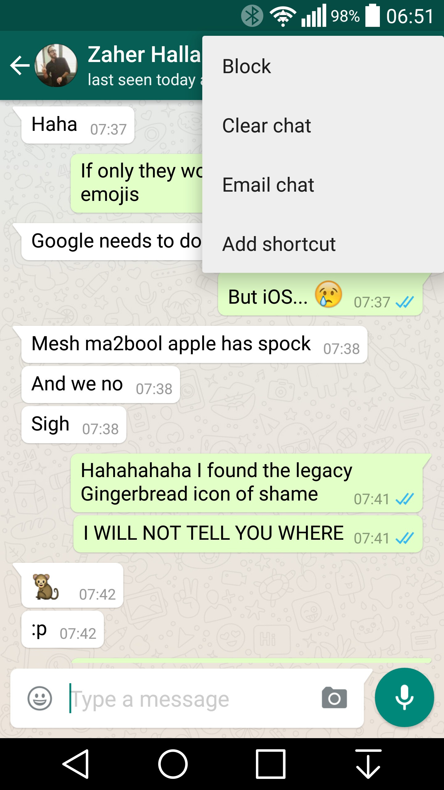 Whatsapp For Android Now Fully Employs Material Design