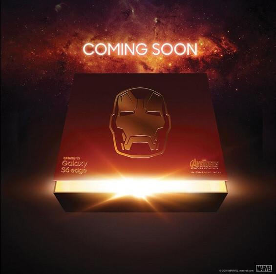 Samsung drops teaser image for Galaxy S6 edge Iron Man edition