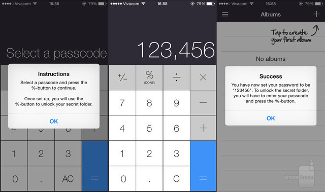 How to hide secret photos on iphone