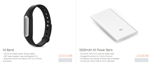 Xiaomi to start selling accessories in the U.S., U.K., Germany and France on May 19th