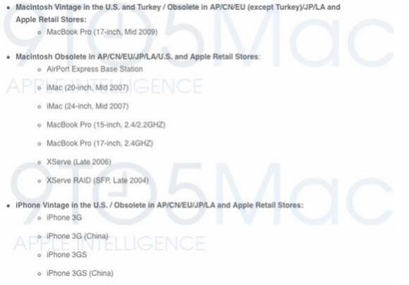 Apple will no longer offer support to the first three iPhone models - Leaked internal document reveals that some iPhone models will no longer get support from Apple