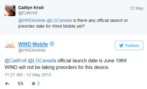LG G4 set to hit Canada on June 19th - LG G4 launches in Canada on June 19th?