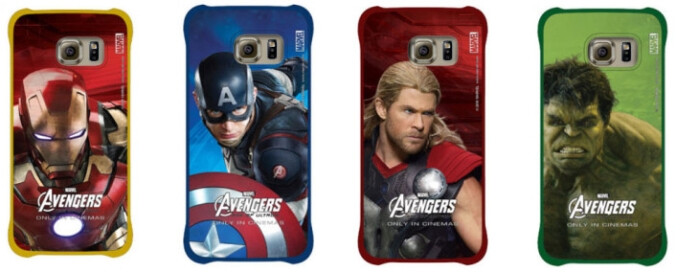 Samsung launches Avengers-themed accessories for the Galaxy S6