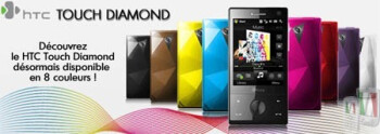 HTC Touch Diamond comes in multiple new colors
