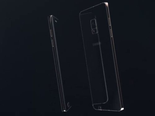Samsung Galaxy Note 5 edge concept renders