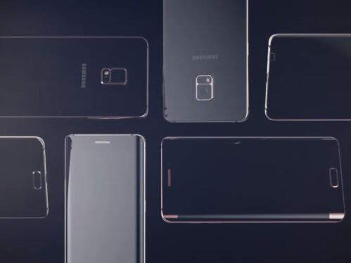 Samsung Galaxy Note 5 edge renders