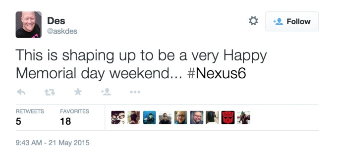 T-Mobile could enable Wi-Fi calling on the Google Nexus 6 this weekend