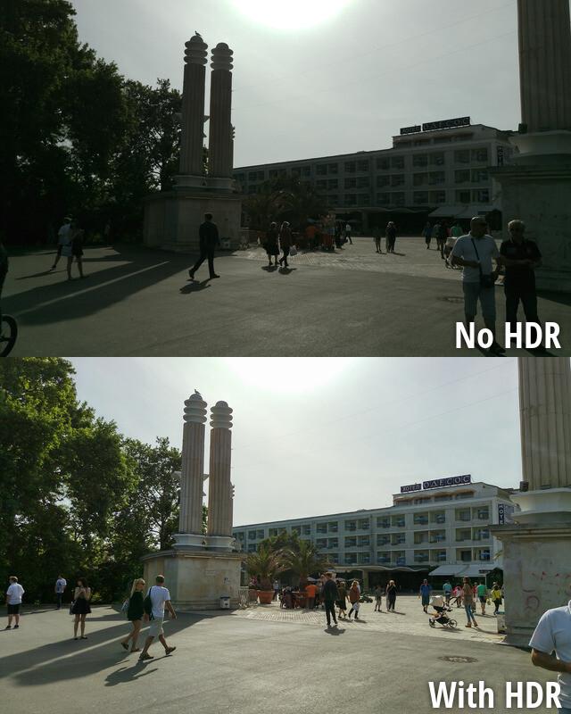 Utilizzare HDR in scene ad alto contrasto