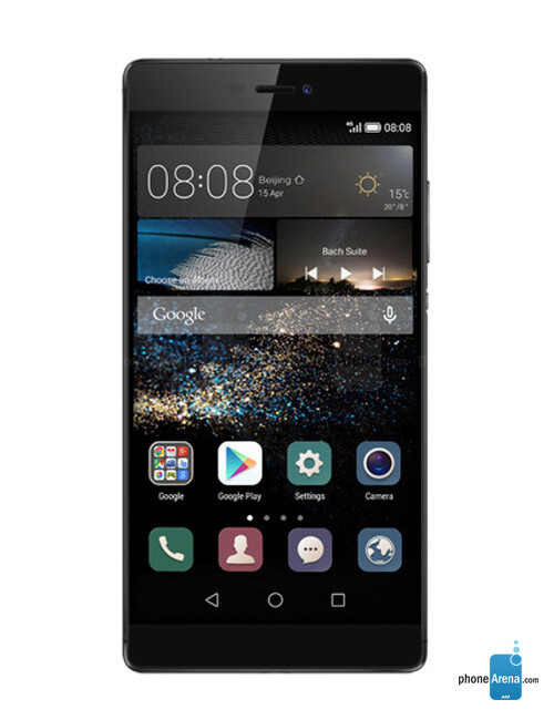 Huawei P8, 71.37% screen-to-body ratio