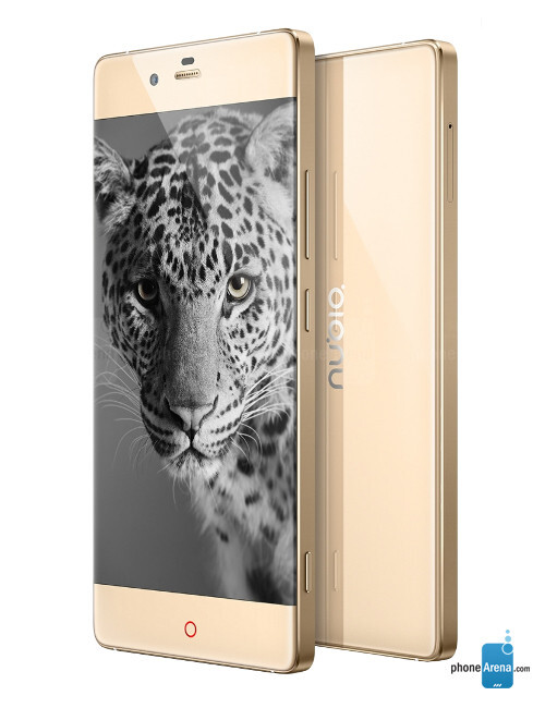 ZTE Nubia Z9, 74.06% screen-to-body ratio