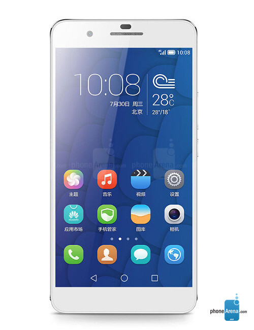Huawei Honor 6 Plus, 73.27% screen-to-body ratio
