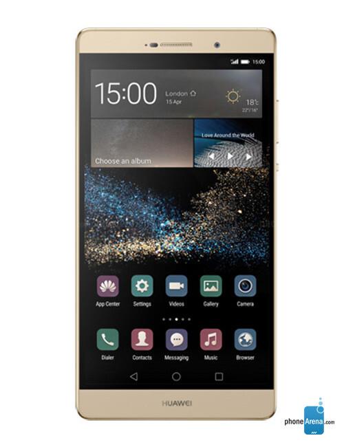 Huawei P8max, 75.08% screen-to-body ratio