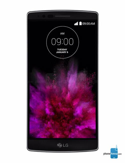 LG G Flex 2, 74.39% screen-to-body ratio