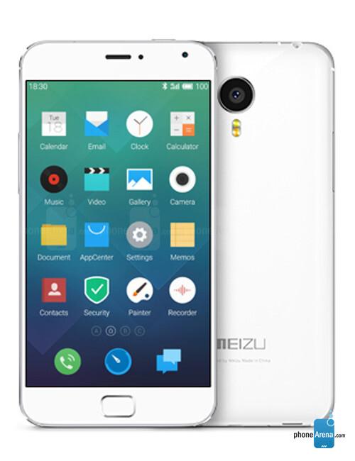 Meizu MX4 Pro, 74.55% screen-to-body-ratio
