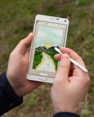 The S Pen is ideal for adding hand-written text to images. Also, drawing with it can be fun - Samsung Galaxy Note 4 long-term review, or how I finally learned to love phablets