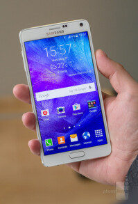 The Samsung Galaxy Note 4 is a pretty large phone