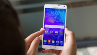The display on the Galaxy Note 4 is big and beautiful