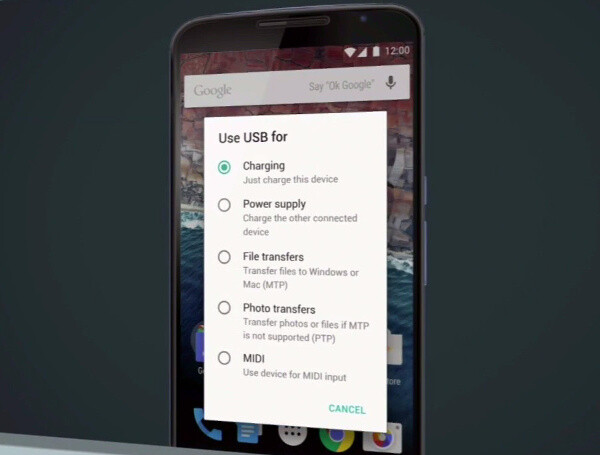 Android M: power and charging improved, USB Type-C coming