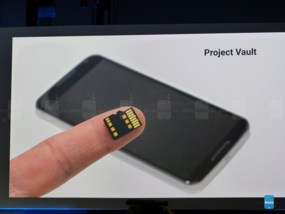 Project Vault is a secure, isolated storage microSD card - Google I/O review: ATAP – a small band of pirates, all the Android, and storage wars
