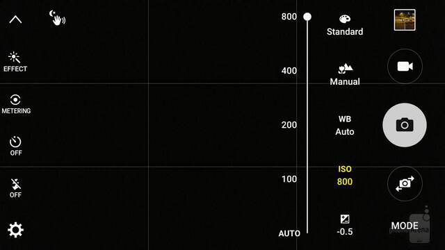 ISO 800 vi darà una velocità molto elevata di posa