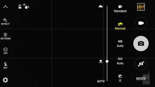 Ecco dove si imposta la messa a fuoco manuale in modalità Pro