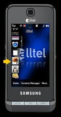 Samsung Delve - a TouchWiz phone for Alltel
