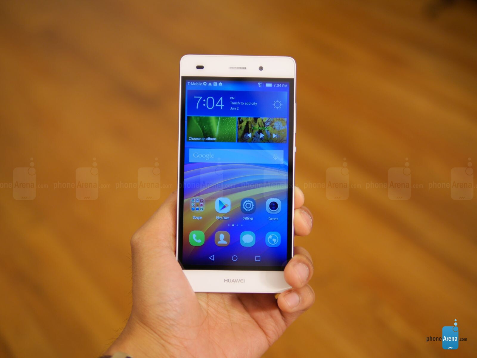 huawei p8 lite hands on phonearena reviews. Black Bedroom Furniture Sets. Home Design Ideas