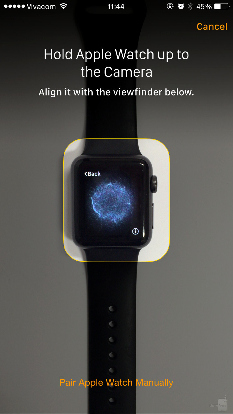 how to sign into apple watch with apple id
