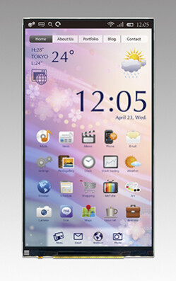 First in-cell touch QHD display by JDI