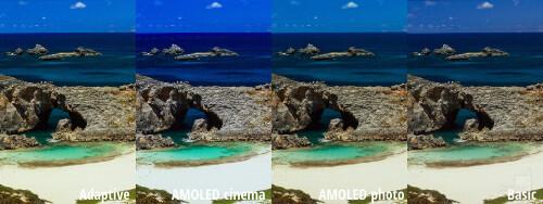 Color reproduction comparison