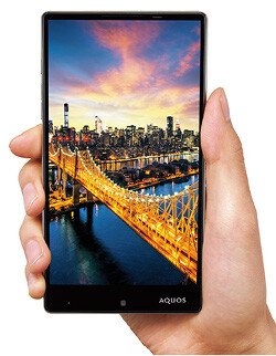 """Monsters from Asia: The headless, 5.7"""" Sharp Aquos Xx and its high-speed camera"""