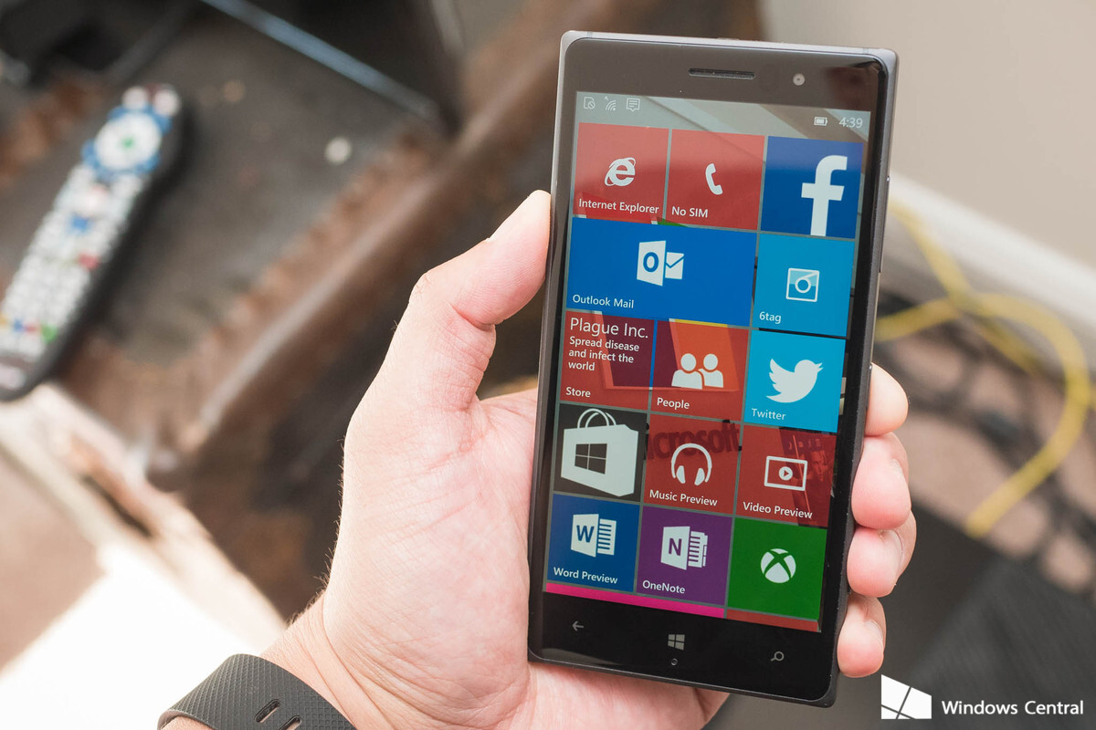 Lumia 640 windows 10 mobile experience on the web windows central - Latest Windows 10 Mobile Preview Screenshots