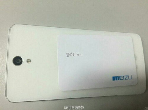 Images of the 6-inch Meizu MX5 Pro