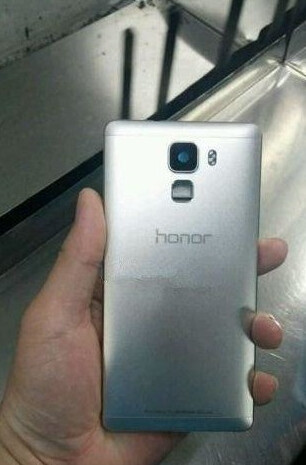 Another photo of the Huawei Honor 7 appears - New image of Huawei Honor 7 appears and shows off its all metal build