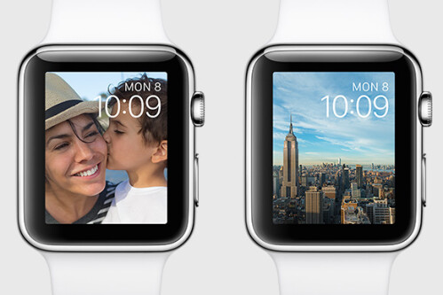 Photo watch faces
