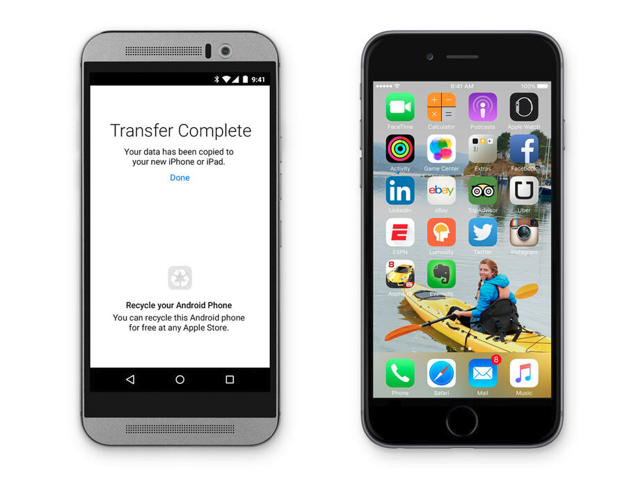 Apple making sure that it's easy for you to switch from Android to iOS - Move to iOS is Apple's 'second' Android app