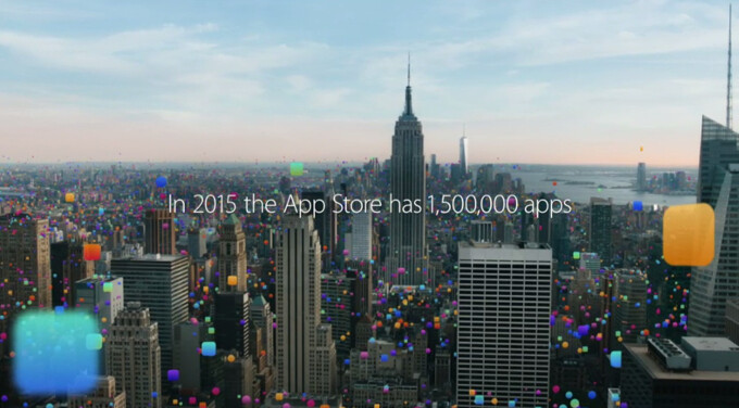 Starting with just 500 apps in 2008, the App Store has managed to expand to 1,500,000 apps in just 7 years. - Apple's App Store now offers 1.5 million apps