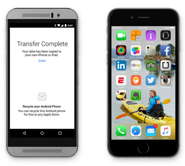 "The Move to iOS app helps Android owners make the move to an iPhone or iPad - Apple's ""Move to iOS"" app helps Android users make the switch to an iPhone or iPad"