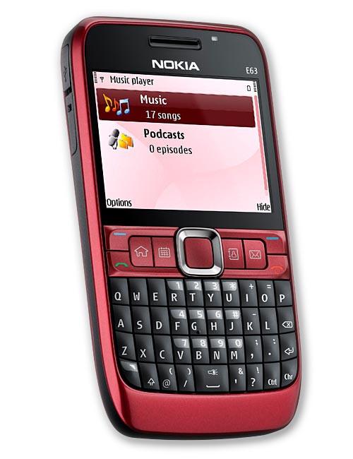 Nokia E63 – a budget QWERTY smartphone