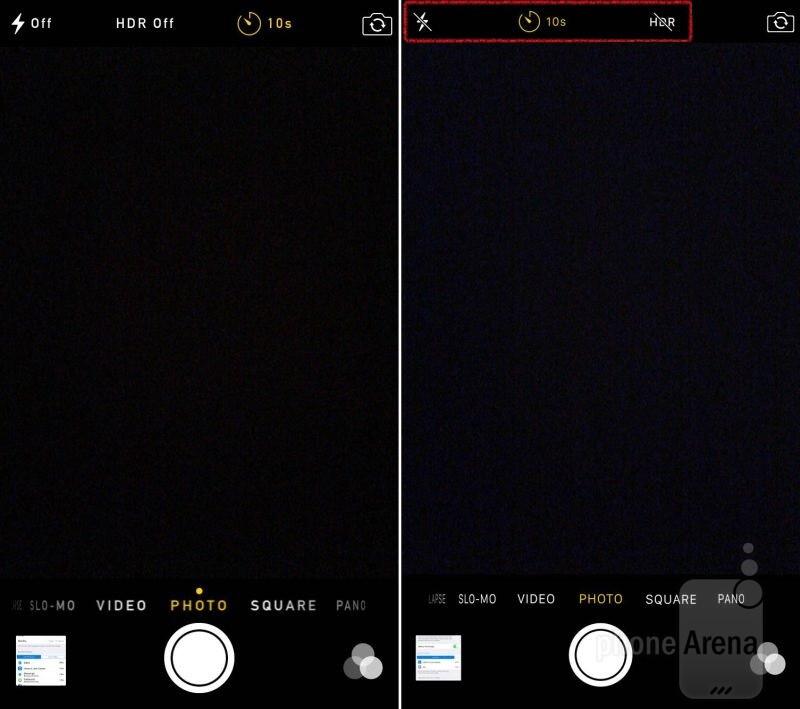 Tweaks Camera app