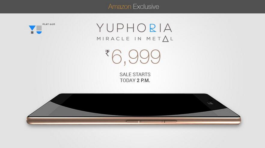 Yu Yuphoria has its third flash sale tomorrow in India - Nightly Cyanogen builds come to Yu Yuphoria; phone will have its third flash sale in India tomorrow